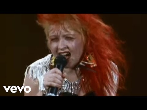 Cyndi Lauper - Money Changes Everything (Official Live Video)