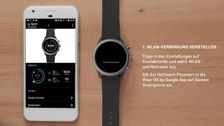 Wie Du Deine Fossil Sport Smartwatch einrichtest