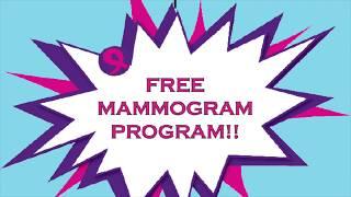 New FREE Mammogram Program Launch!!