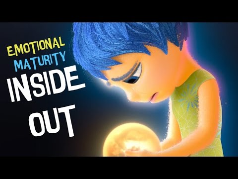 Inside Out  movie - Emotional Maturity