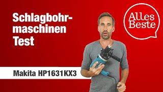 Schlagbohrmaschine Test: Makita HP1631KX3 – AllesBeste.de