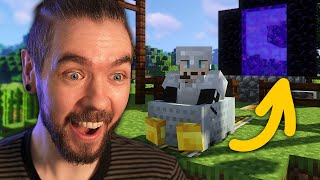 I MADE THIS!   Minecraft with Gab - Part 2
