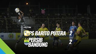 Cuplikan Gol-gol Persib dijamu Barito Putera