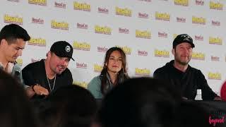 Smallville - Tom Welling, Michael Rosenbaum, Kristin Kreuk MEGACON 2019