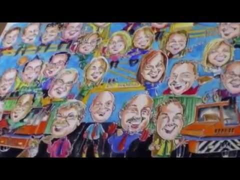 Mark N The Caricaturist Video