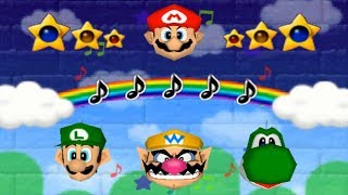 Mario Party 2 - All 1-vs-3 Minigames