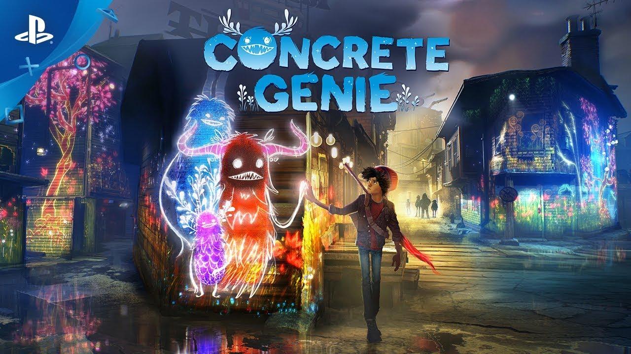 Concrete Genie disponibile dal 9 ottobre 2019 su PS4