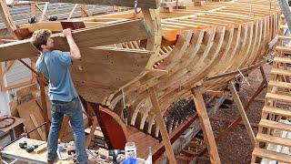 BoatBuilding - Restoring The Transom (EP74)