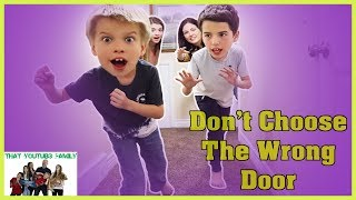 Don't Choose The Wrong Door Tag Neighbor House / That YouTub3 Family I Family Channel