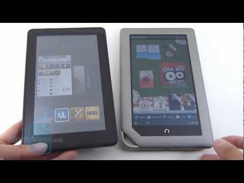 Amazon Kindle Fire vs B&N NOOK Tablet