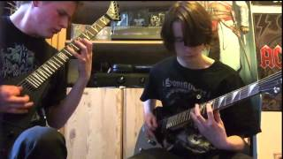Arch Enemy - Time Is Black Guitar Cover
