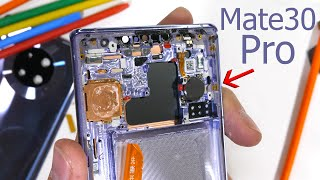 Huawei Mate 30 Pro - The Banned Smartphone TEARDOWN!