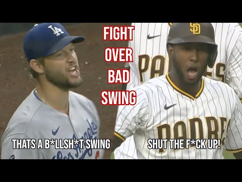 Kershaw and Profar chat about catchers interference, a breakdown