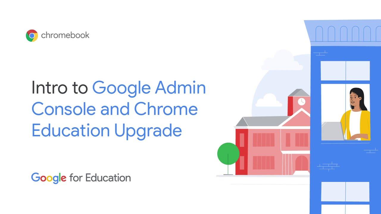 Video of Google Admin Console
