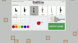 BATTL.IO - Testing all guns!