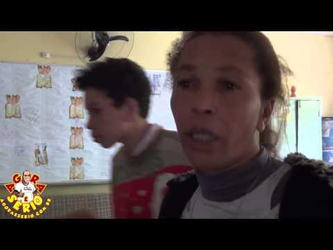 Moradores desabrigados do Barnabés estão acomodados na Escola Municipal Terra Nova
