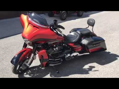 2017 Harley-Davidson CVO™ Street Glide® in Tyrone, Pennsylvania - Video 1