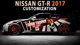 NFS 2015 - Nissan GT-R 2017 (Speed Art / Cinematic / Customization)(PC)