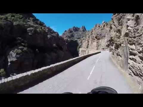 Corsica - Scala di Santa Regina verso Sud-Ovest