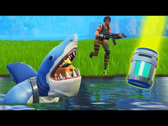 *NEW* Shark Skin TROLLING In Loot Lake!