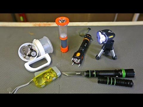 9 Flashlight Gadgets put to the Test