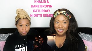 Khalid, Kane Brown   Saturday Nights REMIX (Official Video) Reaction