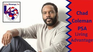 """The Wire"" and ""The Walking Dead"" Star Chad  L. Coleman Advocates for Living Adv"