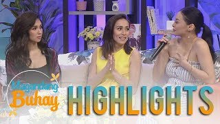 Magandang Buhay: Roxanne, Cristine and Kylie  first impressions of each other