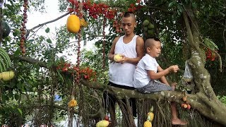Hoa Quả Sơn - Món Ăn Khổng Lồ Mát Lạnh Tại Thiên Đường Resort Của Anh Em Tam Mao