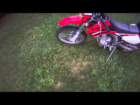 Review of Kawasaki klx250s Dual Sport / Enduro / Motorcycle