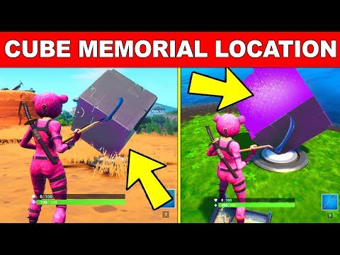 Fortnite Cube Memorial Locations Where To Visit A Memorial
