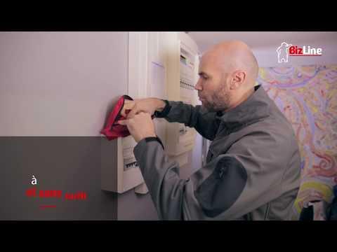 Cadenas consignation avec anse aluminium 38 mm rouge