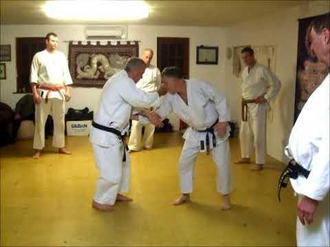 Tom Hill's Karate Dojo; Under hook throw, under hook strike