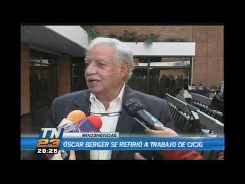 Expresidente de Guatemala Óscar Berger se refirió a trabajo de CICIG