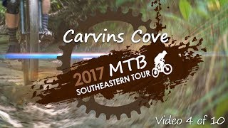 Southeastern Trail Riding @ Carvins Cove, riding the gauntlet.