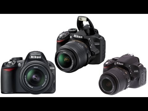 Nikon D3200 vs D3100 vs D5100