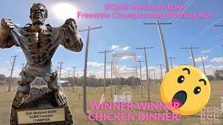 (1st Place Winning Run) KCMR Weekend Bash Freestyle Championship Run - FPV Freestyle