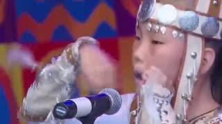 Маленькая девочка Саха порвала всех на всероссийском фестивале. Аэлита