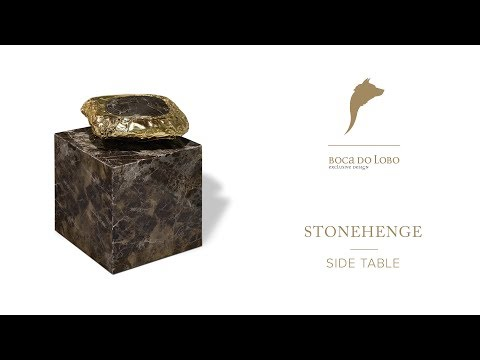 Stonehenge Side Table By Boca Do Lobo thumbnail