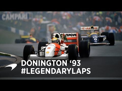 Legendary Laps | Ayrton Senna at Donington '93