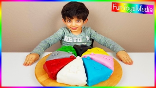 Learn Colors for Kids with a Colorful Birthday Cake and Whipped Cream