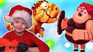 Игра про Динозавров для Детей Динозавры Защищают Яйцо #27 Мультик про Динозавров Lion boy