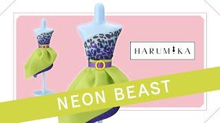HARUMIKA 💘 Tutorial DIY 👗 ¡Crea tus propios diseños de moda!   💚 Set Diseño Neon Beast💚 Trailer