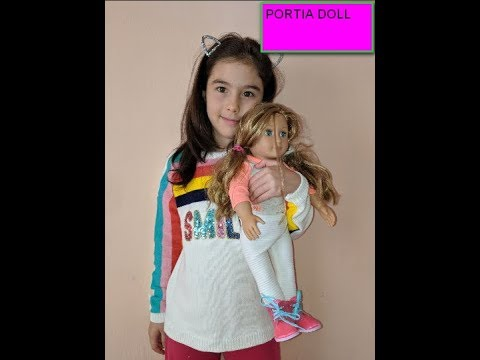 PORTIA DOLL//КУКЛА ПОРТИЯ//MY TIME AT PORTIA