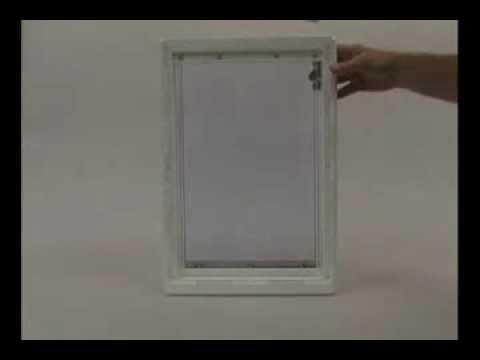 Ideal Pet Air-Seal Pet Door - Extra Large Video