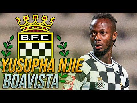 YUSUPHA NJIE - TODOS OS GOLOS - BOAVISTA FC - LIGA...