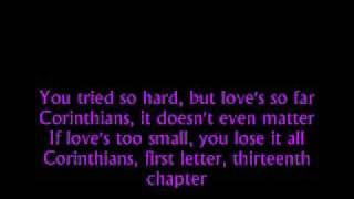 Corinthians Lyrics Video