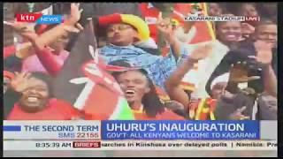Massive attendance at Kasarani stadium for Uhuru's inauguration