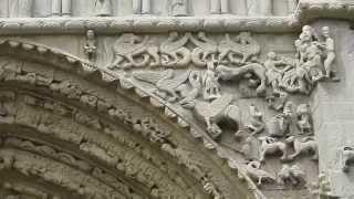 preview picture of video 'La Basílica de Santa Maria la Real, a Sangüesa'