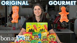 Pastry Chef Attempts to Make Gourmet Sour Patch Kids | Gourmet Makes | Bon Appétit